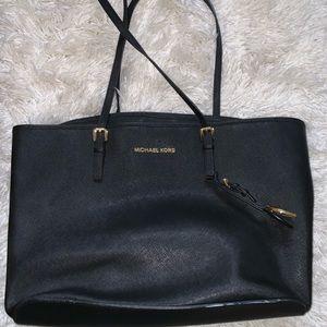 Michael Kora black purse